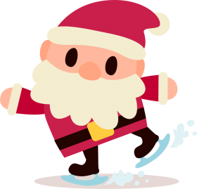 santa claus christmas png clipart HD