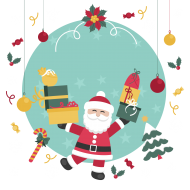 santa claus clipart png cartoon