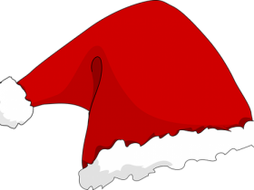 santa hat png cartoon