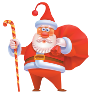 santa hat png hd cartoon claus clipart 3d