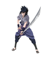 sasuke png cartoon fight
