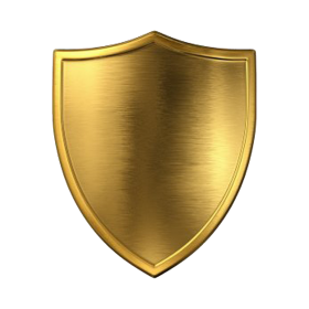 shield png gold