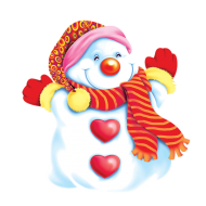 snowman christmas clipart png