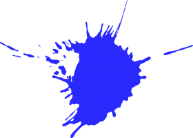 splash png hd blue
