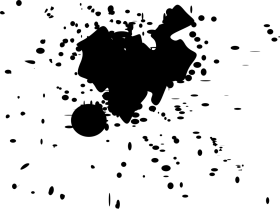 splatter png black color hd