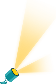 spotlight png vector yellow