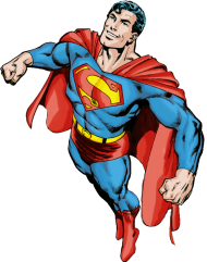 superman png cartoon