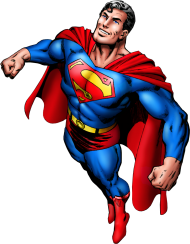 superman png flying