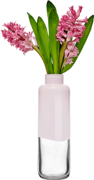 tall flower vase png