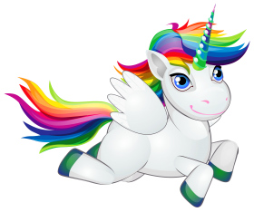 unicornio png fly