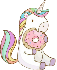 unicornio png hd eat