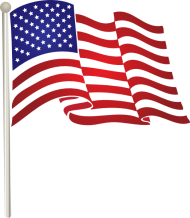 united states america flag png
