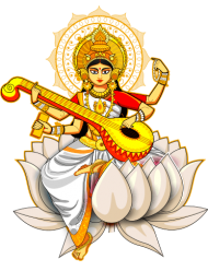 vasant Panchami png cartoon plucked