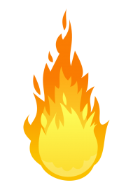 vector fire png