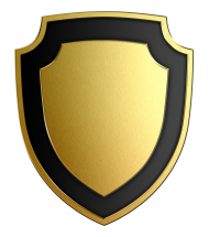 vector logo gold shield png