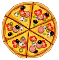 vector pizza png
