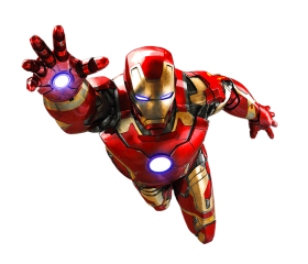 vingadores png fly
