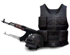 weapon pubg png hd